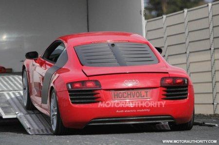 Audi R8 E-Tron: Альтернатива будущему