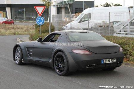 Mercedes-Benz SLS AMG:Черное совершенство