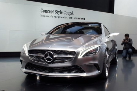 Mercedes-Benz Concept Style Coupe (2012)