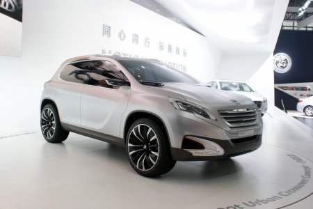 Peugeot Urban Crossover concept (2012)