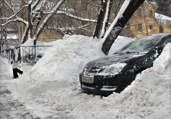 Фото обзор снегопада в Москве и его последствия с прогнозом