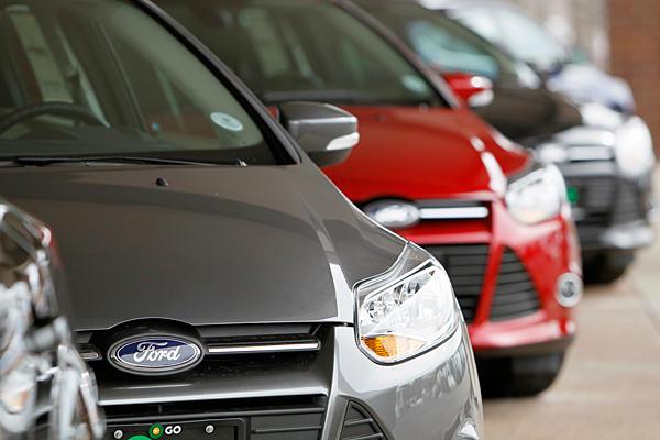 Продажи новых легковых автомобилей в 2012 году увеличились на 12 прцентов