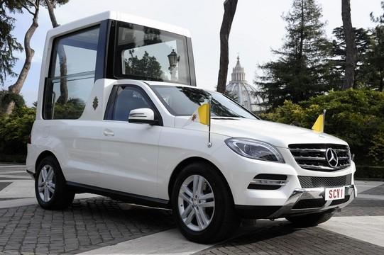 Новый Mercedes M-Class для Папы