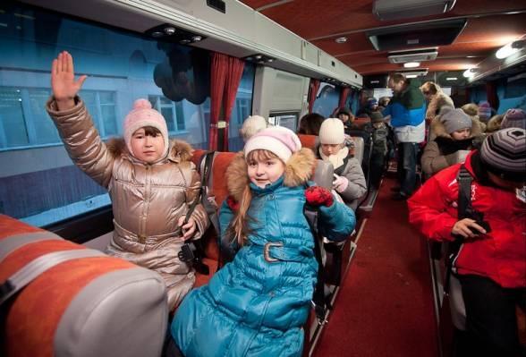 Автобусы- пропагандисты безопасного движения