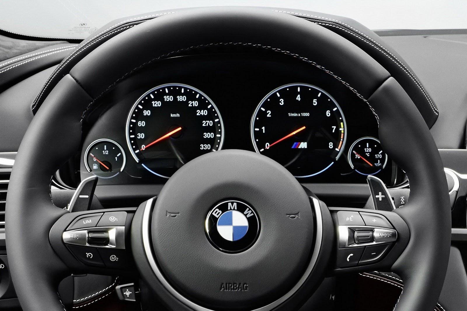 2014 BMW M6 Gran Coupe.