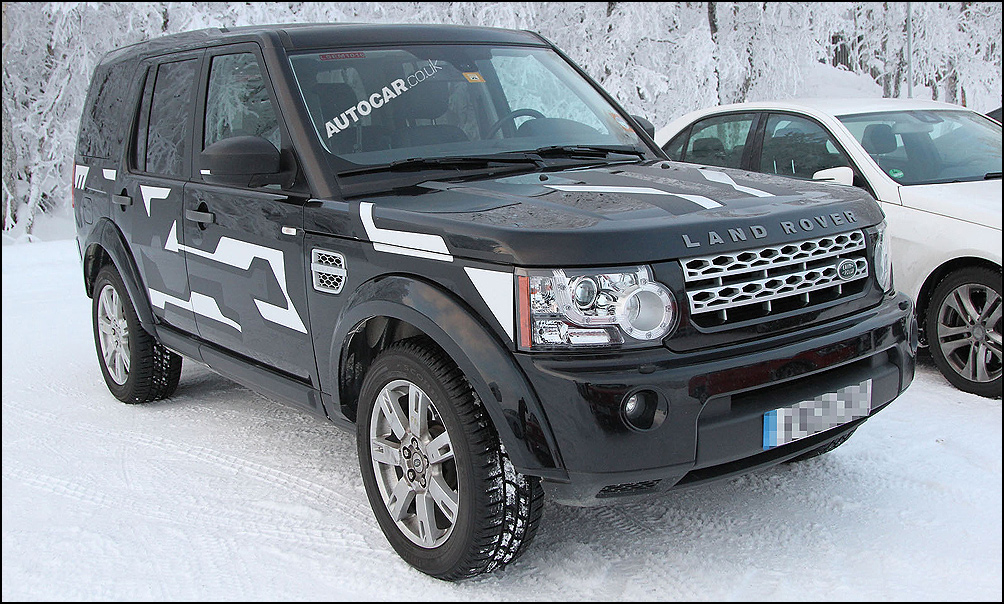 Land Rover Discovery 2015 фото