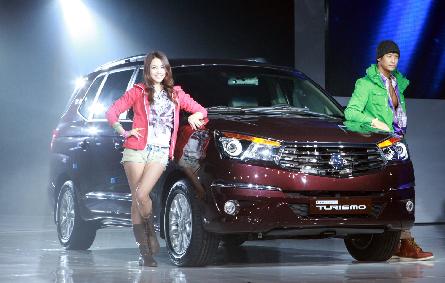 SsangYong Stavic 2013 фото