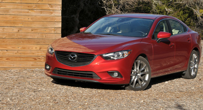 Первый тест драв 2014 Mazda6: Описание + 26 фото