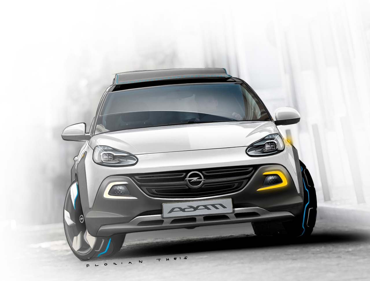 Opel Adam Rocks 2013 фото