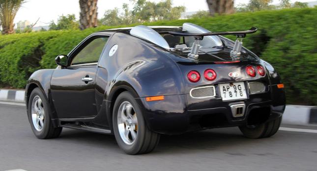 Клон Bugatti Veyron построенный на платформе Suzuki