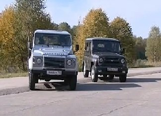 УАЗ Хантер vs Land Rover Defender 90