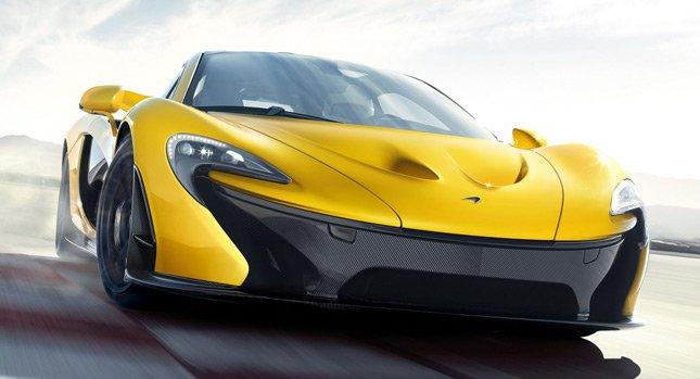 McLaren P1 2014 - первые официальные фотографии.