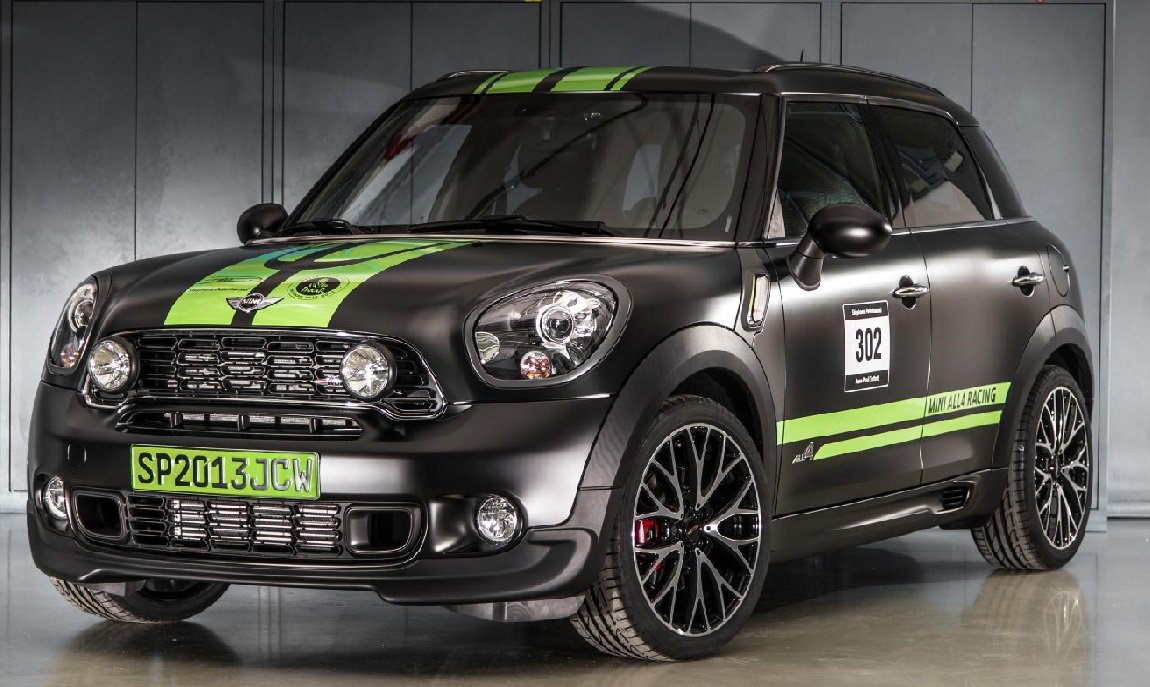 MINI John Cooper Works Countryman ALL4 Dakar Winner фото