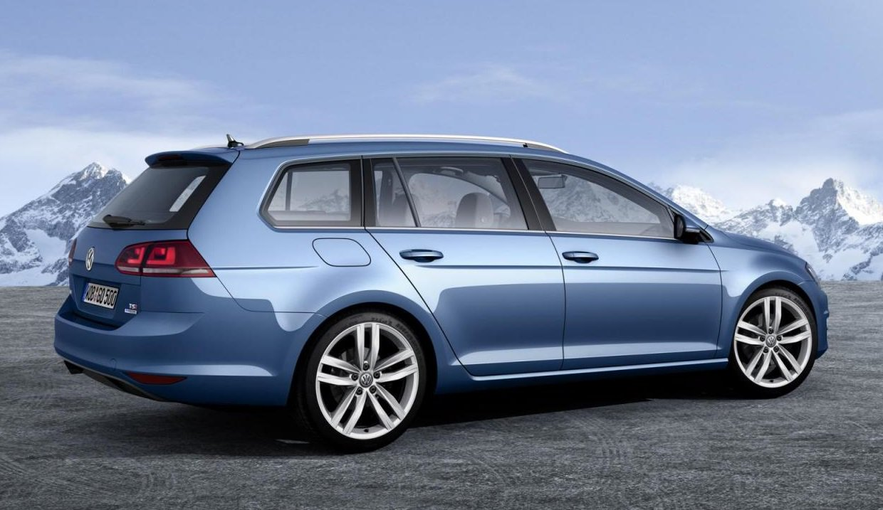 Volkswagen Golf Variant TSI BlueMotion фото