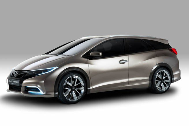 Honda Civic Tourer фото