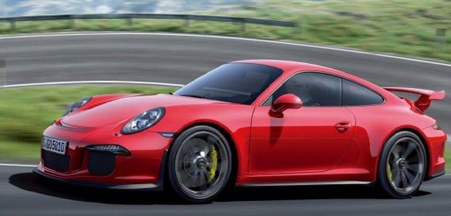 2014 Porsche 911 GT3:Новая мощь