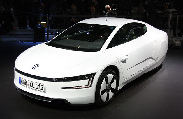 Volkswagen официально представляет супер-экономный XL1