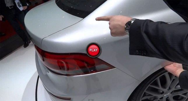 Новый Китайский автомобиль Qoros 3 Sedan - головоломка.