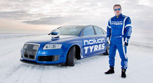 Рекордная скорость 335 км/час - Audi RS6.