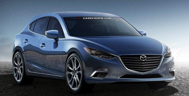 ������� ����� Mazda3 2015 ����.