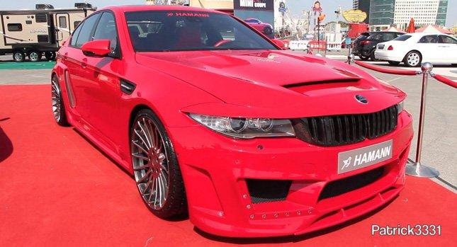 Факт дня: Hamann BMW M5 F10