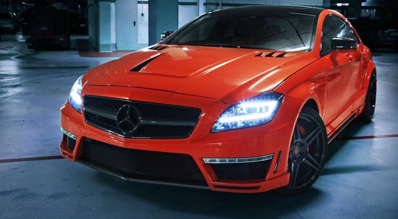 Mercedes-Benz CLS63 AMG от German Special Customs фото