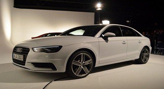 2014 Audi A3 Sedan:Дебют в Нью-Йорке