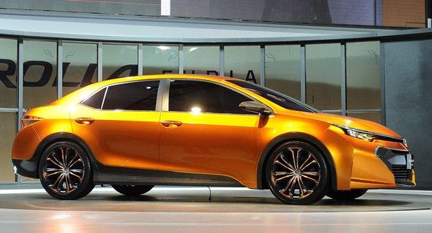 Новая Toyota Corolla 2014 года. Ждать осталось не долго.