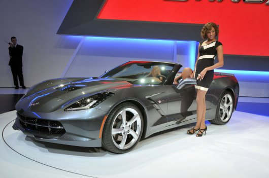 2014 Chevrolet Corvette Stingray Convertible фото