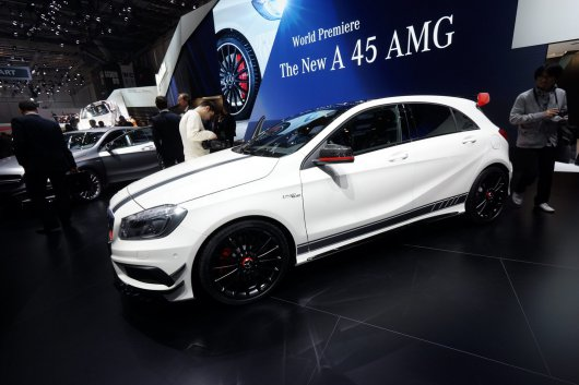 New 355HP Mercedes-Benz A 45 AMG