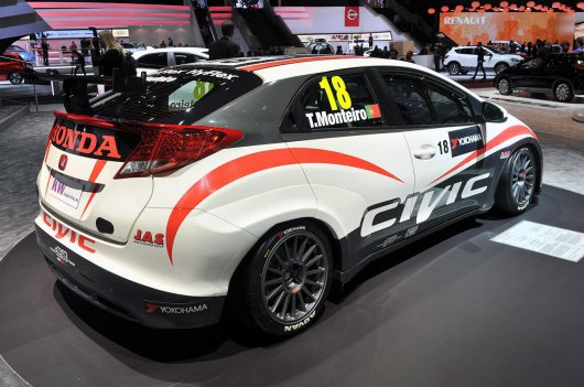 Honda Civic WTCC 2013