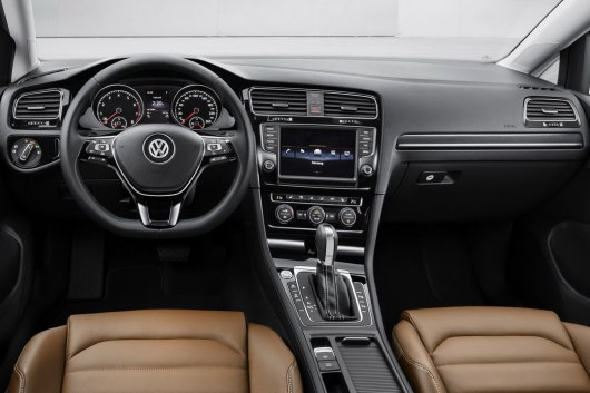 ����������� �������� � ���-����� VW Golf MY 2015 ����