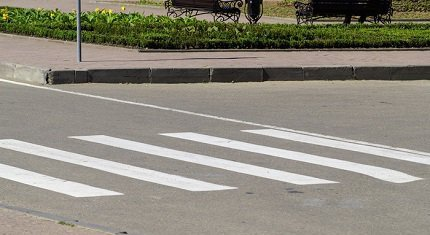 Пешеходные переходы оповестят водителей об опасности