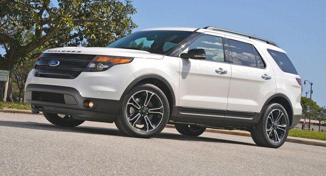 2013 Ford Explorer Sport:Первый обзор