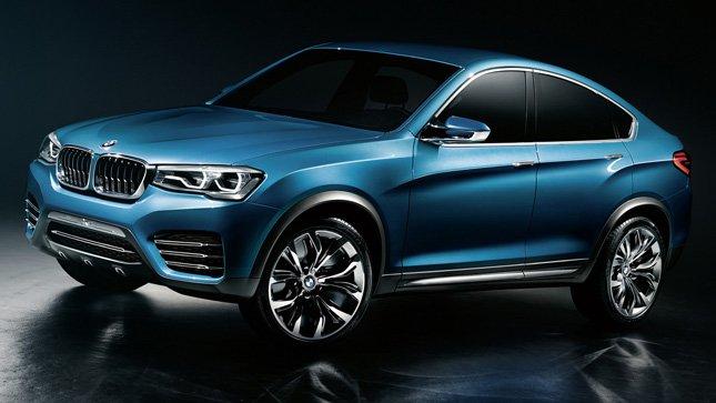 Новый 2015 BMW X4 Концепт