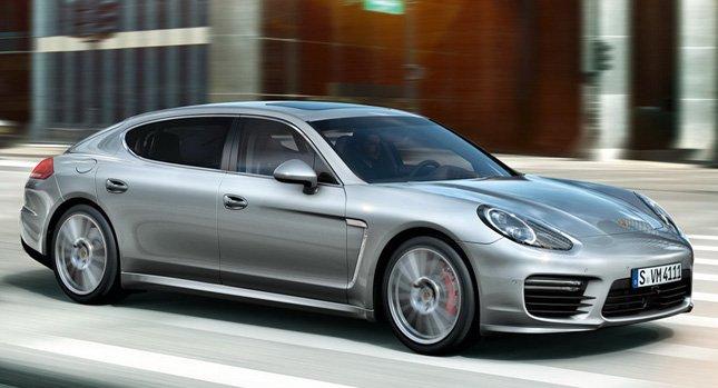 Официальные релиз Porsche Panamera 2014 года