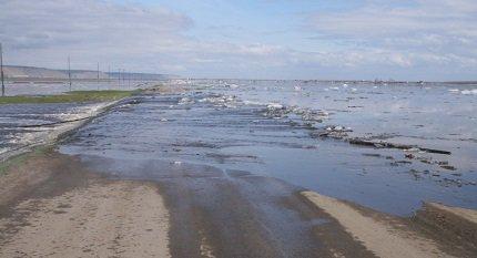 Дороги страны могут уйти под воду из-за весенних паводков