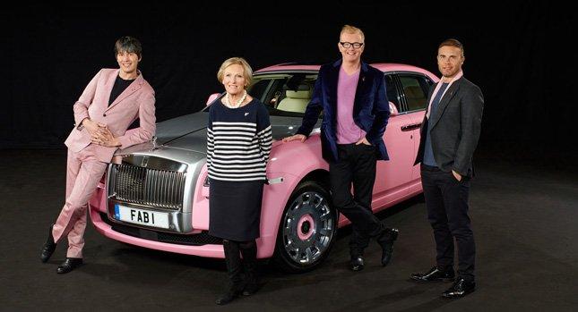 розовый Rolls-Royce