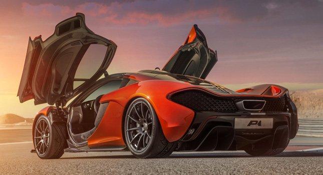 Высококачественные HD фото гипер-кара McLaren P1.