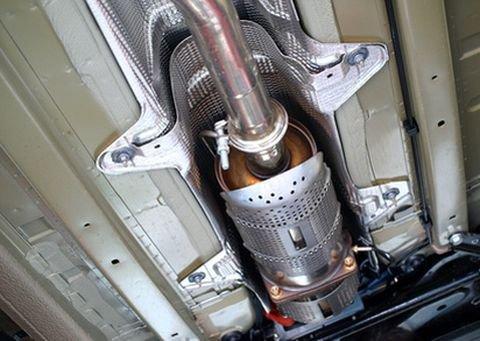 Катализатор выхлопных газов автомобиля