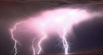 Что происходит при попадании молнии в машину