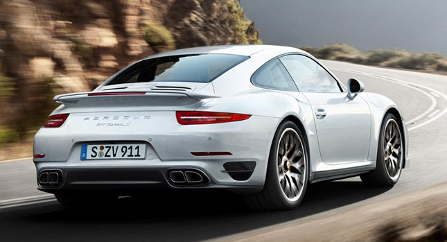 Новые автомобили 2014 Porsche 911 Turbo и Turbo S [Фотографии и Видео]