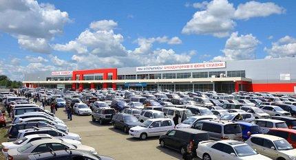 Статистика продаж поддержанных машин в России