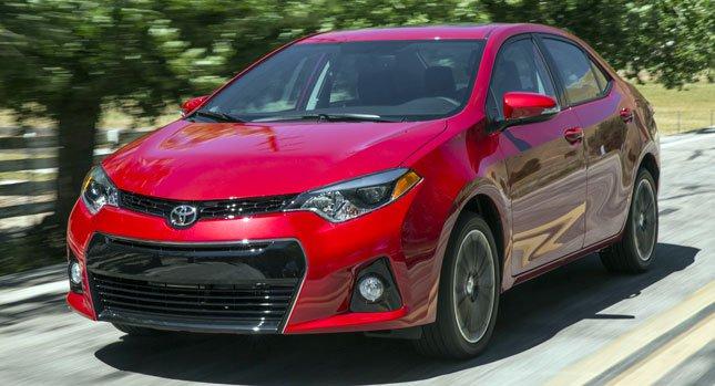 2014 Toyota Corolla новый обновленный дизайн и 7-ми ступенчатая коробка передач. Фото и видео