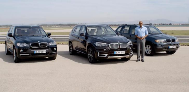 Прогресс и эволюция BMW X5. Видео + фото