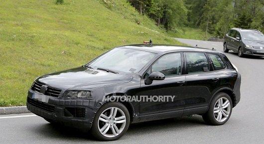 В конце 2014 года появится обновленный Volkswagen Touareg 2015.