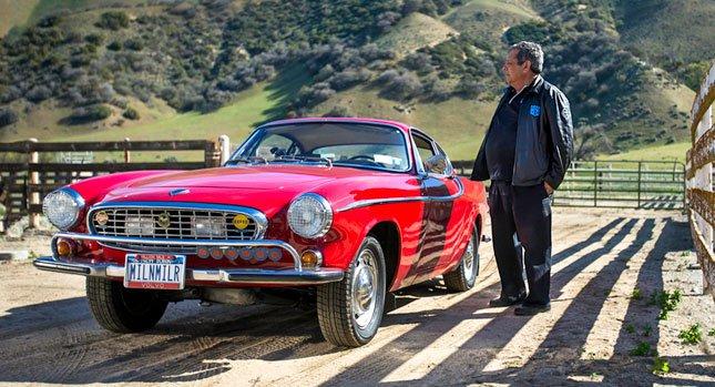 Автомобиль 1966 Volvo P1800 прошел почти 5 млн. километров
