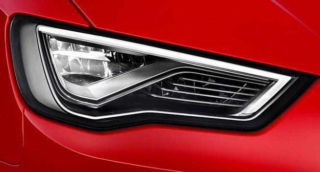 LED фары нового поколения от компании Ауди.