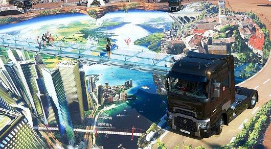 Компания Renault создала самый большой в мире 3-d рисунок на улице