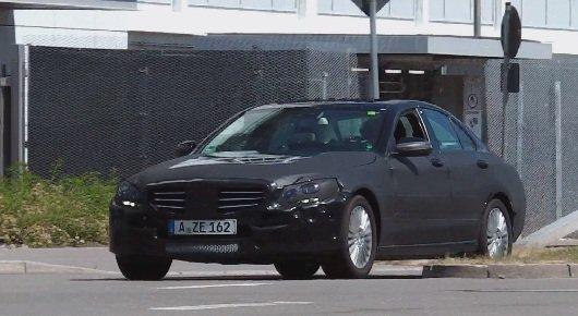 Новый 2015 Mercedes-Benz C-Class | Шпионское видео